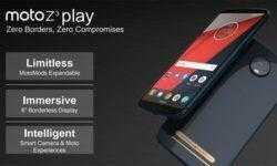 Раскрыты ключевые характеристики смартфона Moto Z3 Play с комплектами Moto Mods