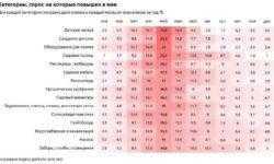 Рубероид, мороженое и путешествия: на что готовы потратить деньги пользователи рунета в начале лета
