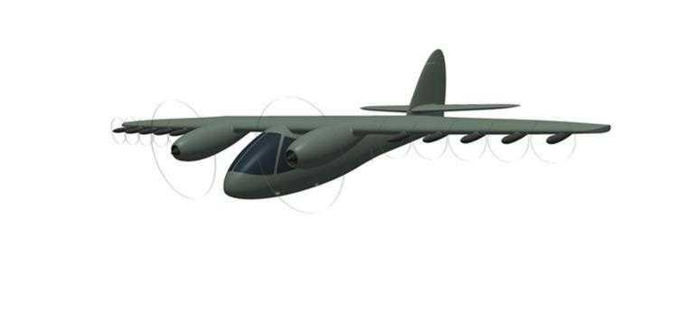 Фото В России предложен проект нового самолёта со сверхкоротким взлётом