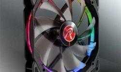 Вентилятор охлаждения Raijintek Auras 14 RGB оснащён кольцеобразной подсветкой