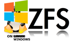 ZFSin: работаем с ZFS нативно под Windows
