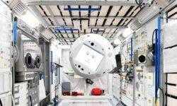 Фото: космический робот-помощник на базе искусственного интеллекта CIMON