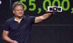Глава NVIDIA заверил, что анонс новых игровых ускорителей будет нескоро