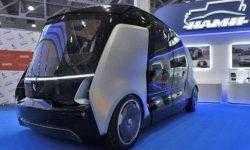 «КамАЗ» показал свой беспилотный автобус руководству Татарстана