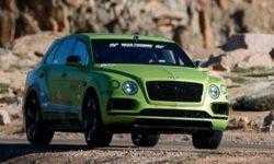 Кроссовер Bentley Bentayga установил новый рекорд в горной гонке Pikes Peak