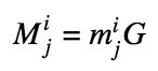 Формула: Вычисление публичного multisig ключа