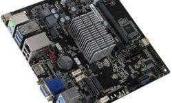 Плата ECS GLKD-I на базе Intel Gemini Lake использует внешний блок питания