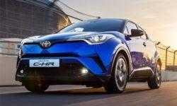 Раскрыто оснащение кроссовера Toyota C-HR для российского рынка