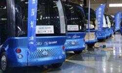 Baidu выпустила первую партию беспилотных автобусов