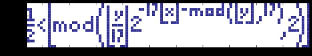 [Из песочницы] Формула Таппера и реализация алгоритма на Python