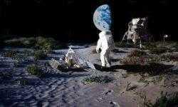 На ранней Луне могли быть вода, атмосфера и жизнь