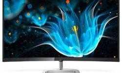Новый изогнутый монитор Philips обеспечивает расширенную цветовую палитру