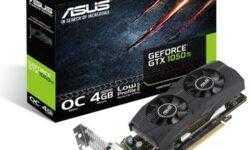 Новый ускоритель ASUS GeForce GTX 1050 Ti OC Edition рассчитан на компактные ПК