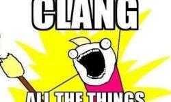 [Перевод] Clang. Часть 1: введение
