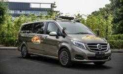 Самоуправляемые автомобили Mercedes-Benz выедут на дороги Пекина
