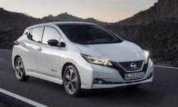 Самым популярным электромобилем в Европе в 2018 году стал Nissan Leaf