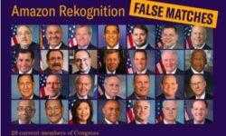 Система распознавания лиц Amazon Rekognition приняла 28 конгрессменов США за преступников
