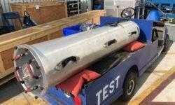 Спасательная мини субмарина проходит испытания