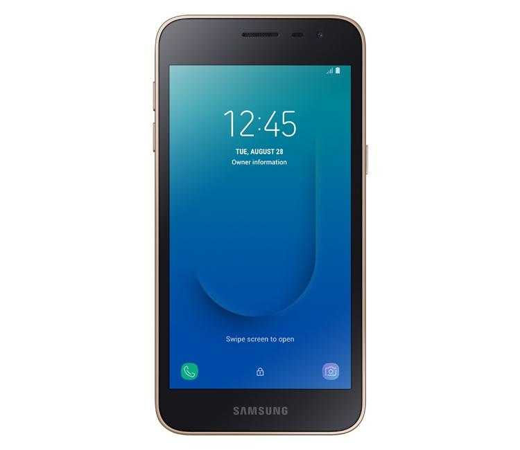Фото Дебют смартфона Galaxy J2 Core: первый аппарат Samsung на базе Android Go