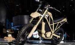 Фото дня: российский электромотоцикл SM-1 для силовых структур