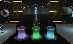 Фото: тестовая версия VR-чата «Альфа-банка» для премиальных клиентов