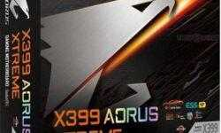 GIGABYTE X399 Aorus Xtreme: плата для мощного игрового ПК