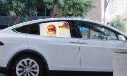Grabb-It — стартап, который размещает видеорекламу на окнах автомобилей