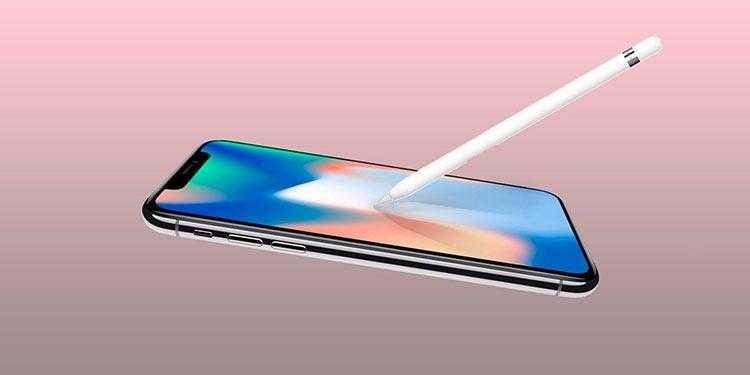 Фото Новые сообщения о поддержке Apple Pencil в новых iPhone с OLED-экранами