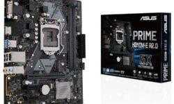 Плата ASUS Prime H310M-E R2.0 выполнена в формате Micro-ATX