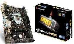 Плата Biostar H310MHD PRO2 подходит для игровых ПК начального уровня