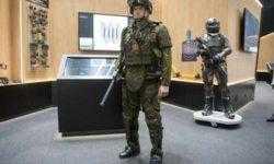 Показан действующий экзоскелет для российских солдат будущего