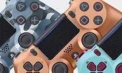 Трио PlayStation-контроллеров Dualshock 4 в оригинальном исполнении