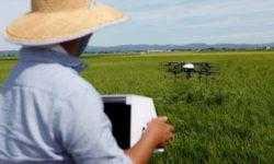В Японии тестируют дроны, которые снизят нагрузку на стареющих фермеров