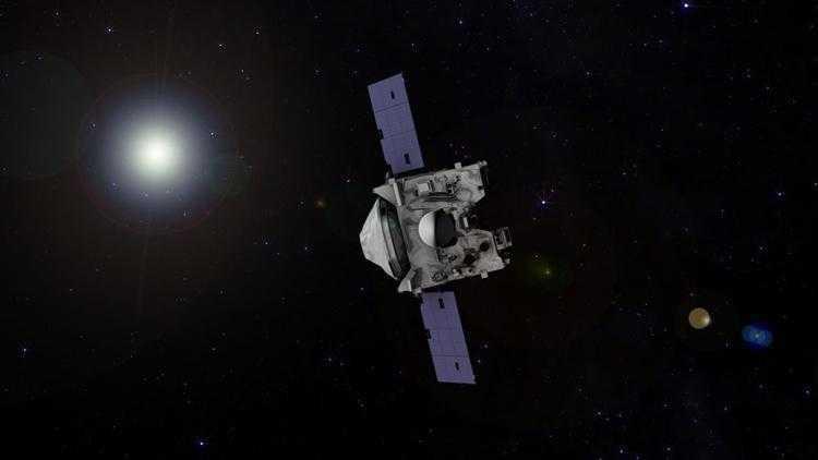 Фото Зонд OSIRIS-REx начинает сближение с астероидом Бенну