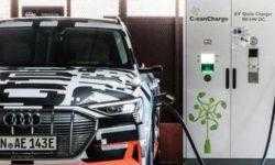 Audi запустила производство своего первого полностью электрического кроссовера