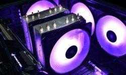 Кулер Deepcool Neptwin RGB оснащён шестью тепловыми трубками