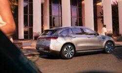 Mercedes-Benz показала свой первый электромобиль