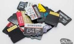 Новая статья: Сводное тестирование карт памяти microSD объёмом 64 Гбайт