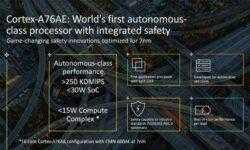 Процессор ARM Cortex-A76AE ориентирован на робомобили