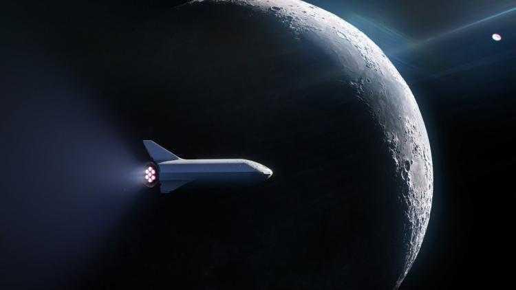Фото SpaceX подписала контракт с первым туристом на полёт вокруг Луны