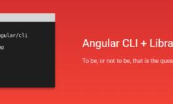 Тестируем создание библиотеки компонент для Angular с помощью новой команды для Angular/Cli — library