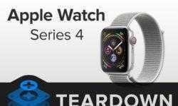 Умельцы iFixit препарировали часы Apple Watch Series 4
