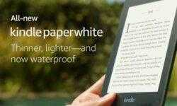 Новая электронная книга Kindle Paperwhite не боится воды