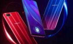 OPPO K1: смартфон среднего уровня с экранным дактилоскопическим сканером