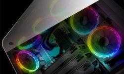 ПК-корпус Cougar Puritas RGB оснащён тремя вентиляторами с подсветкой
