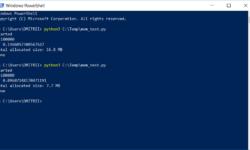 Python: как уменьшить расход памяти вдвое, добавив всего одну строчку кода?