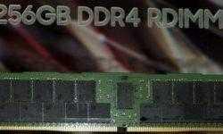 Samsung показала RDIMM ёмкостью 256 Гбайт: скоро в серверах