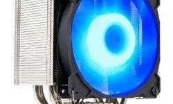 Система охлаждения GELID Sirocco рассчитана на процессоры с TDP до 200 Вт