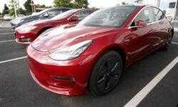 Сообщается, что Tesla выпустила уже более 100 тысяч Model 3