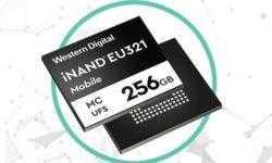 Western Digital создала первый 96-слойный модуль 3D NAND UFS 2.1 для смартфонов